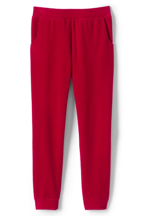Girls Plush Jogger Sweatpants