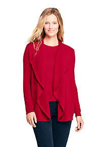 Women s Cashmere Waterfall Cardigan Sweater 2a87c7760