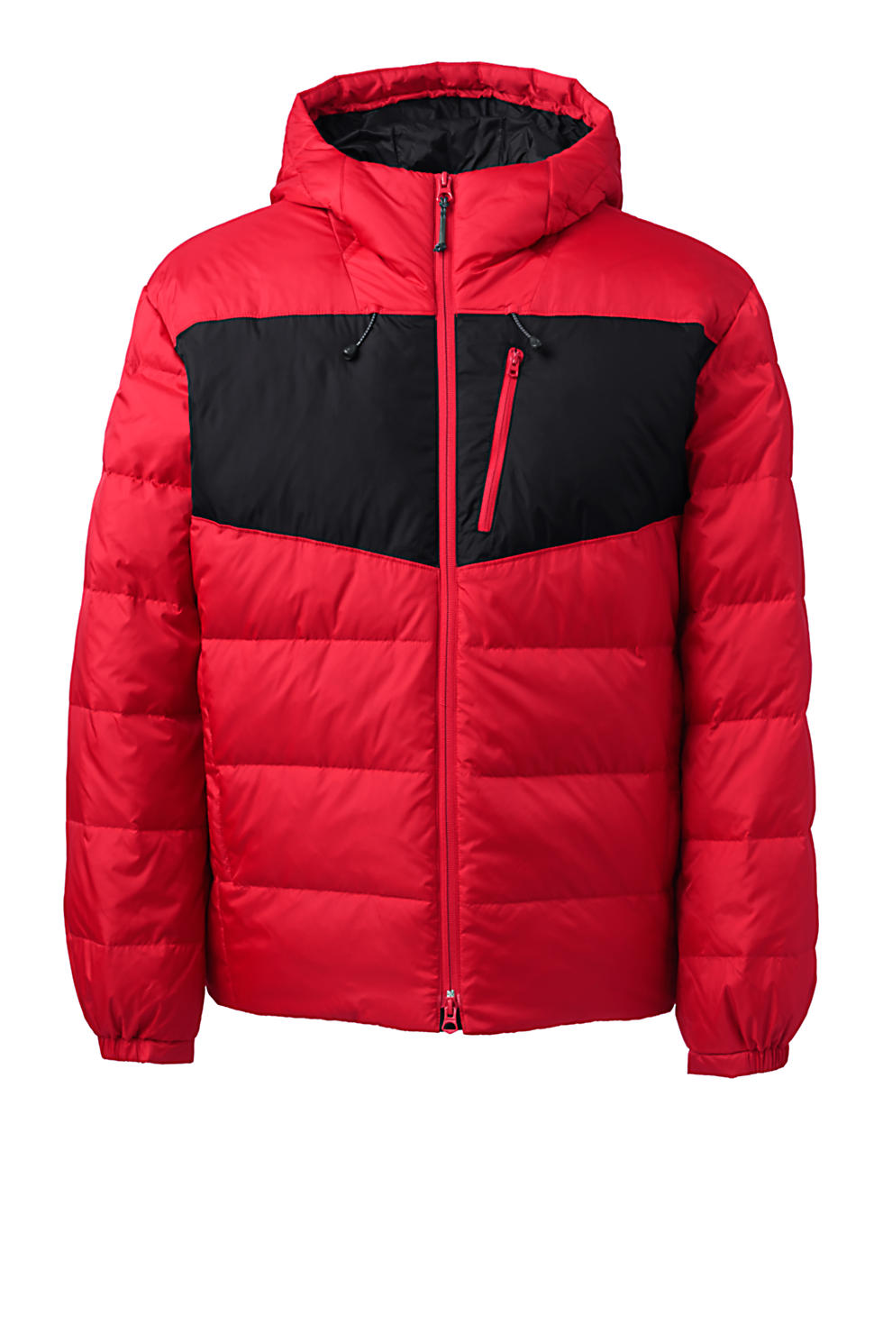 Lands End Mens Expedition Winter Down Puffer Jacket