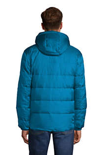 Men's Tall Expedition Winter Down Puffer Jacket, Back