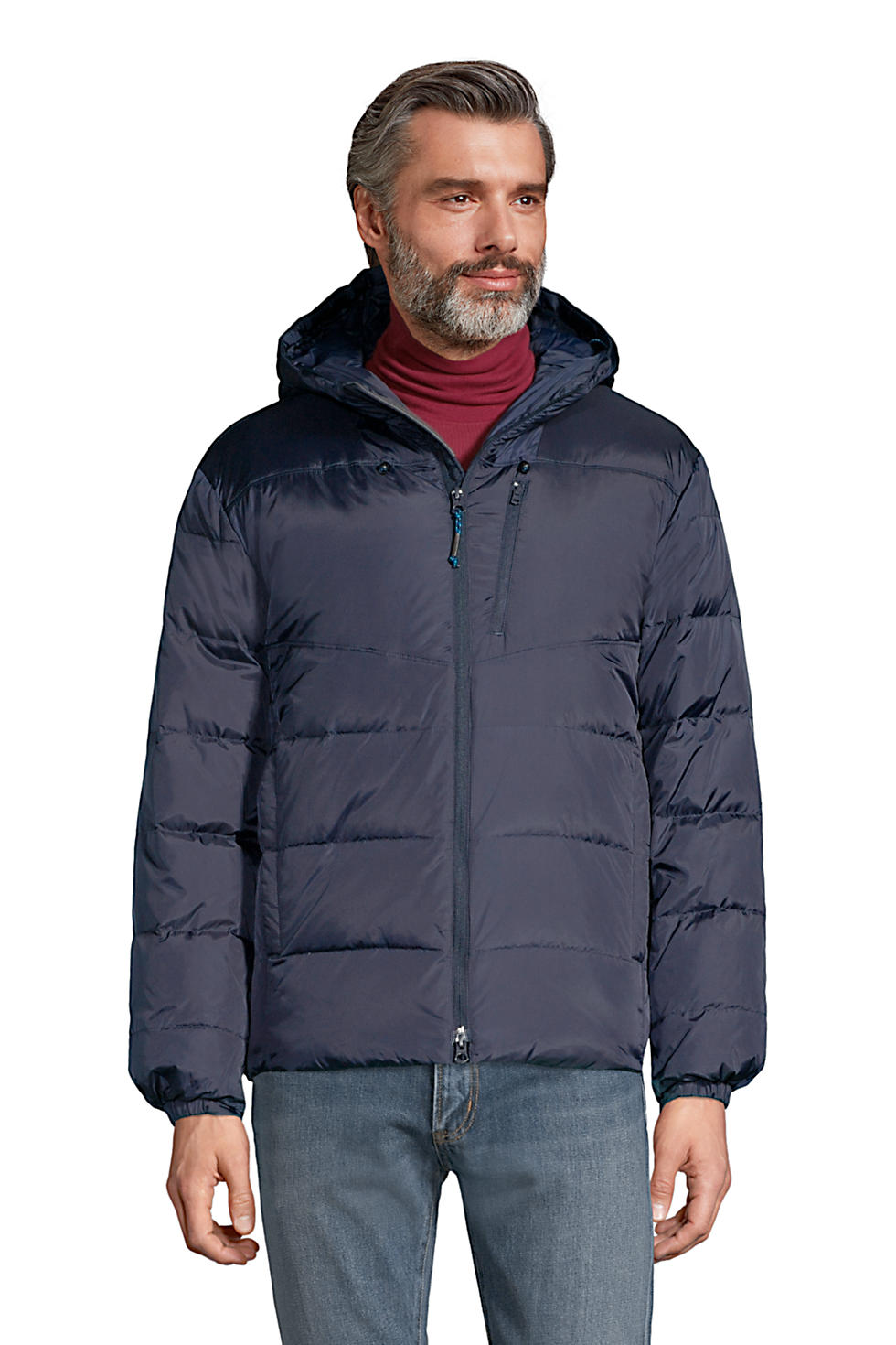 Lands End Men's Expedition Winter Down Puffer Jacket