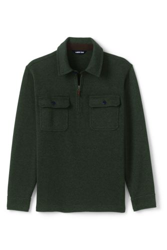 Men's Sweater Fleece Half Zip Jumper