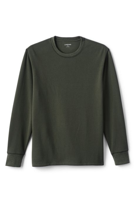 Men's Long Sleeve Comfort-First Thermal Waffle Crew