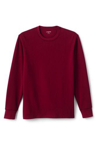 Le T-Shirt Texturé à Manches Longues, Homme Stature Standard