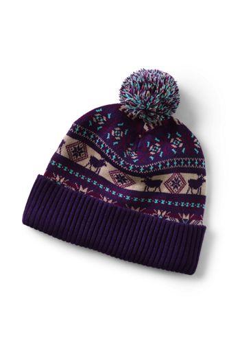 Men's Knit Pattern Winter Beanie