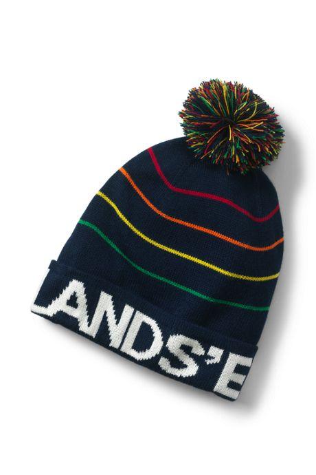 Men s Knit Pattern Winter Hat 1b7d2651a47