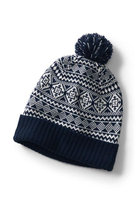 566c5d0260f006 Men's Knit Pattern Winter Hat, Accessories, Accessories, Boys & Men ...