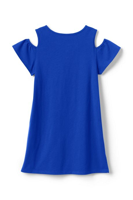 Girls Plus Cold Shoulder Tunic Top