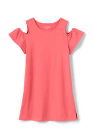 Little Girls Cold Shoulder Tunic Top