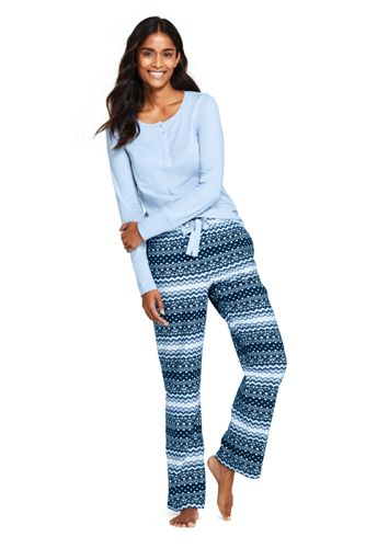 sale retailer 3f6f1 5079d Zweiteiliges Pyjama-Set für Damen | Lands' End