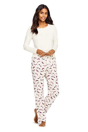 a27f3987624484 Women's Printed Pyjama Set   Lands' End