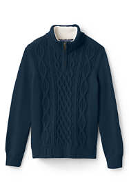 Toddler Boys Half Zip Sweater