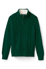 Little Boys Half Zip Sweater