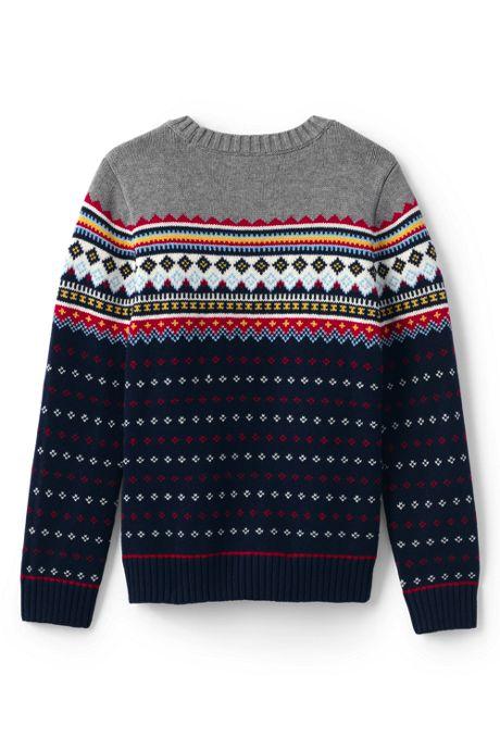 Little Boys Fairisle Crewneck Sweater