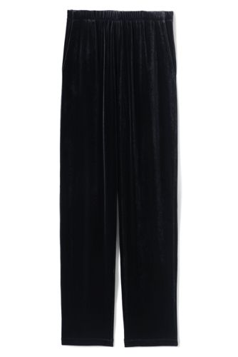 Le Pantalon en Velours Stretch, Femme Stature Standard