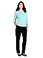 Le Pantalon en Velours Stretch, Femme Stature Standard