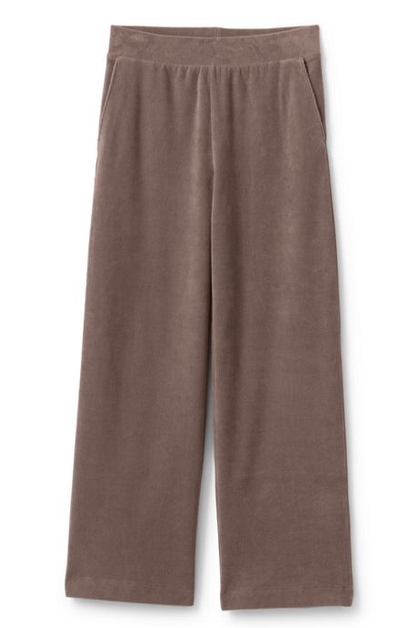 Women's Sport Cord Wide Leg Pants