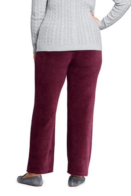 Women's Plus Size Velour Pants