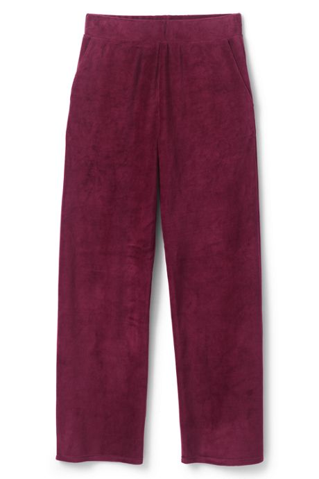 Women's Petite Velour Pants