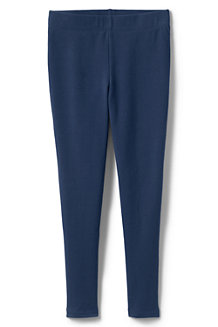 Girls' French Terry Leggings with Iron Knees