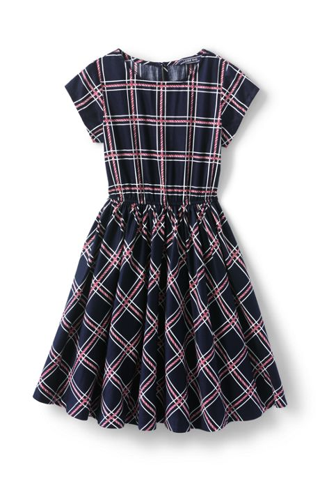 Girls Plus Size Christmas Twirl Dress