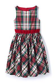 girls taffeta christmas dress - Girls Plaid Christmas Dress