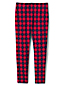 Little Girls' French Terry Patterned Leggings with Iron Knees