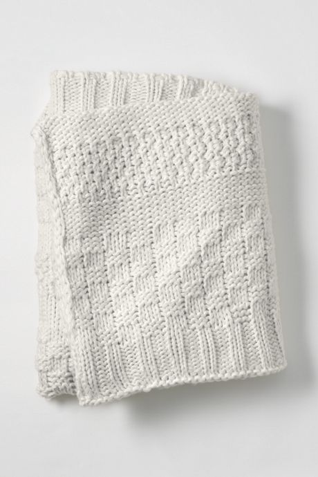 Mix Knit Throw