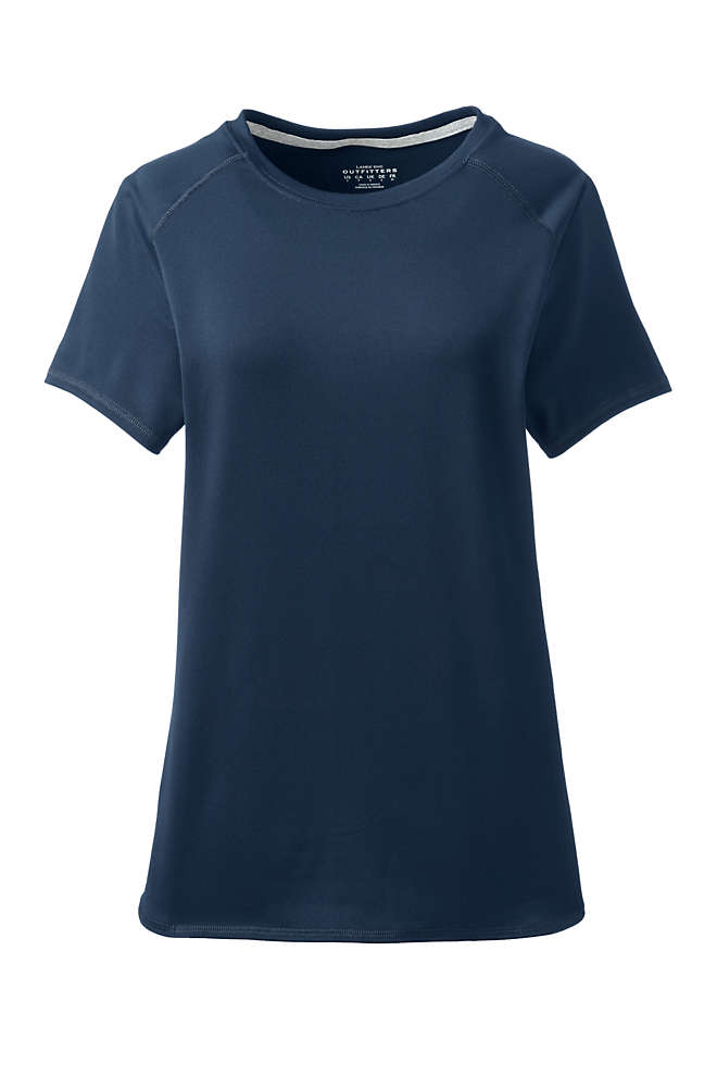 Women's Short Sleeve Active Tee, Front