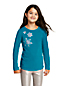 Girls' Snowflake Graphic Tee