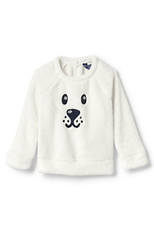 95a44a17fb Little Girls' Cuddly Fleece Critter Sweatshirt
