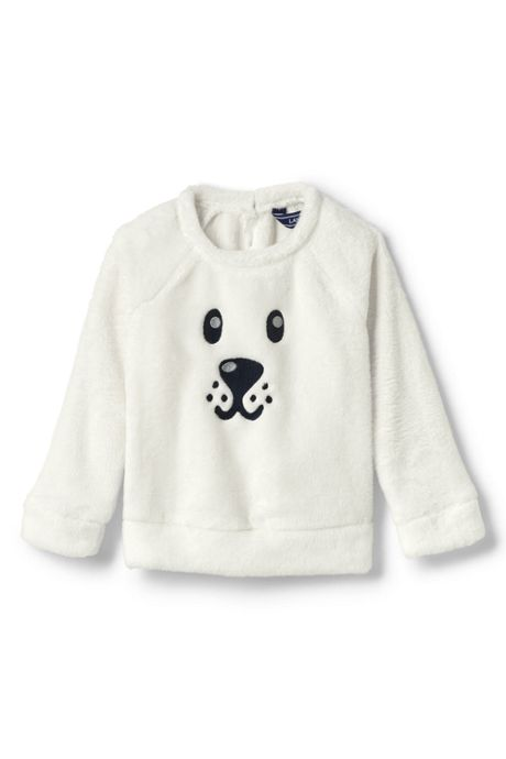 Toddler Girls Cozy Critter Sweatshirt