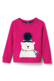Toddler Girls Cozy Bear Sweatshirt