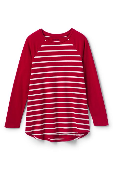 Girls Plus Pattern Tunic Top