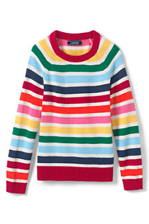 Girls' Striped Jumper
