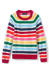 Girls Plus Multi Stripe Sweater