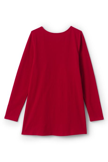 Girls Plus Sequin Gathered Tunic Top