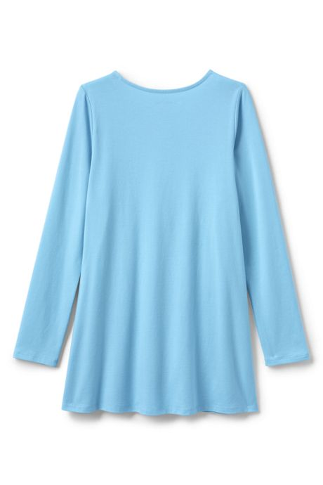 Girls Snowflake Gathered Tunic Top