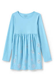 Girls Plus Snowflake Gathered Tunic Top