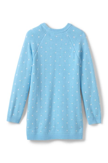 Little Girls Polar Bear Sweater Tunic Top