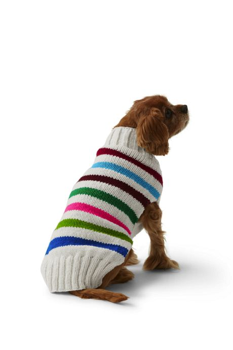 Dog Knit Pattern Christmas Sweater