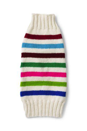 Dog Knit Pattern Christmas Sweater