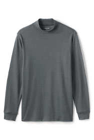 Men's Pattern Supima Mock Turtleneck