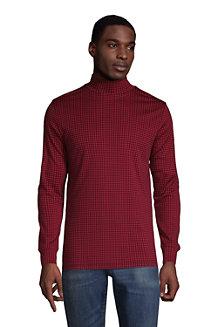 Le T-Shirt Supima® Col Roulé à Motifs, Homme