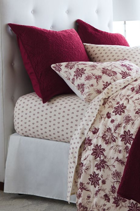 Velvet Medallion Quilt Shams