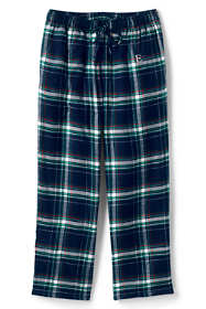 Men's Sherpa Lined Flannel Pajama Pants