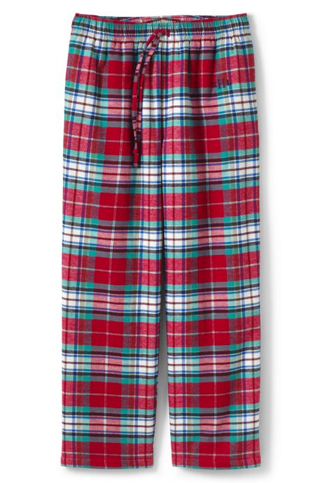 Men's Tall Sherpa Lined Flannel Pajama Pant