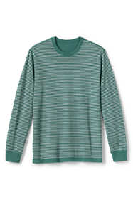 Men's Double Face Reversible Knit Crewneck Sleep Shirt