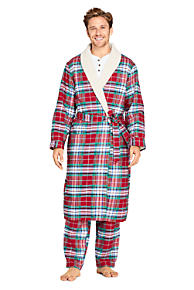 Men's Flannel Pajamas & Robes