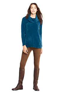 Women's Chenille Tunic Sweater Cowl Neck, alternative image
